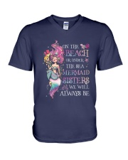 Mermaid - Mermaid Sisters V-Neck T-Shirt thumbnail