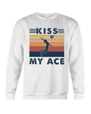 Volleyball Kiss My Ace Crewneck Sweatshirt thumbnail