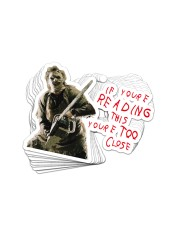 Too Close 2 Sticker - 10 pack (Horizontal) front