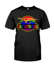 Gigaynotosaurus LGBT Classic T-Shirt front