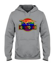 Gigaynotosaurus LGBT Hooded Sweatshirt tile