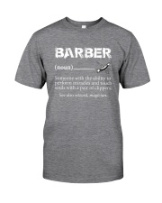 Barber-Barber Definition Classic T-Shirt tile