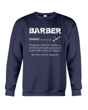 Barber-Barber Definition Crewneck Sweatshirt thumbnail