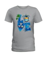 Turtle Love Beach Ladies T-Shirt thumbnail