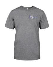 Back The Blue Hologram 2 sides Classic T-Shirt tile