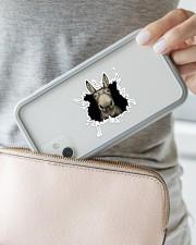 Donkey Sticker - Single (Horizontal) aos-sticker-single-horizontal-lifestyle-front-23