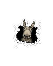 Donkey Sticker - Single (Horizontal) front