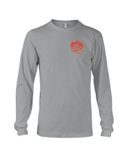 Skull Roses 2 Sides Shirts Long Sleeve Tee tile