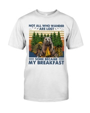 Camping - Some Became My Breakfast Classic T-Shirt front