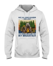 Camping - Some Became My Breakfast Hooded Sweatshirt thumbnail