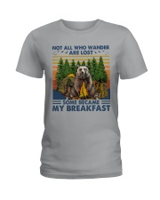Camping - Some Became My Breakfast Ladies T-Shirt thumbnail