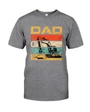 Excavator Dad Love Classic T-Shirt tile