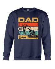 Excavator Dad Love Crewneck Sweatshirt tile