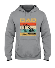 Excavator Dad Love Hooded Sweatshirt tile