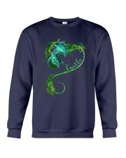 Turtle Love Beach Crewneck Sweatshirt thumbnail