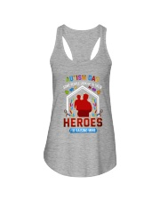 Autism Dad Rasing Hero Ladies Flowy Tank thumbnail