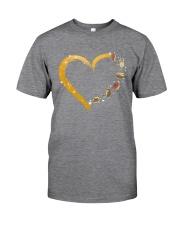 Turtle Yoga Heart Classic T-Shirt tile
