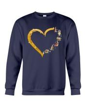Turtle Yoga Heart Crewneck Sweatshirt thumbnail