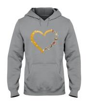 Turtle Yoga Heart Hooded Sweatshirt thumbnail