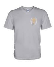 Jesus 4 Given 2 Sides V-Neck T-Shirt tile