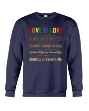 LGBT - Love Is Love Crewneck Sweatshirt tile