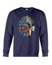 Native Earth In My Church Crewneck Sweatshirt thumbnail