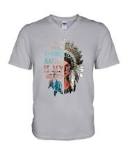 Native Earth In My Church V-Neck T-Shirt thumbnail