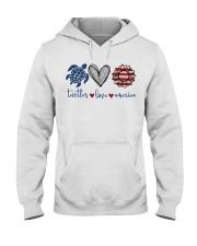 Turtle Love America Hooded Sweatshirt thumbnail