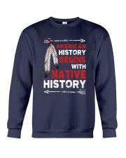 Native - American Begins History Crewneck Sweatshirt tile