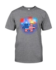 Autism Independence Day Classic T-Shirt tile