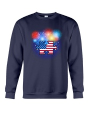 Autism Independence Day Crewneck Sweatshirt tile
