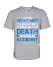 Police - If You Hurt Me V-Neck T-Shirt thumbnail