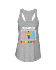 LGBT - Gender Equality Ladies Flowy Tank tile