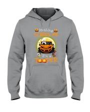 Nothing Scares Me Im A Jp Hooded Sweatshirt thumbnail