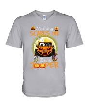 Nothing Scares Me Im A Jp V-Neck T-Shirt thumbnail