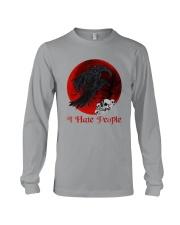 Skull - Raven I Hate People Long Sleeve Tee tile