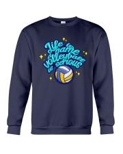 Volleyball - Life Is A Game Crewneck Sweatshirt tile