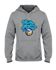 Volleyball - Life Is A Game Hooded Sweatshirt tile