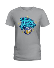 Volleyball - Life Is A Game Ladies T-Shirt tile