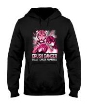 Tiger Breast Cancer Hooded Sweatshirt tile