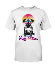 Dog mom Classic T-Shirt front