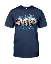 Diabetes Panda - Peace Love Cure Classic T-Shirt tile