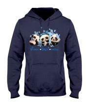 Diabetes Panda - Peace Love Cure Hooded Sweatshirt tile