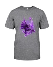 Fibromyalgia-Strong Like A Dragon Classic T-Shirt tile