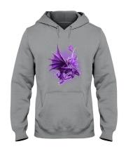 Fibromyalgia-Strong Like A Dragon Hooded Sweatshirt thumbnail