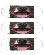 pit bull lover mask  Cloth Face Mask - 3 Pack front