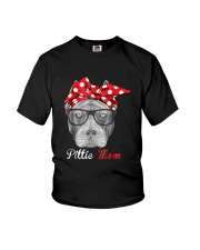 Pittie Mom Shirt for Pitbull Dog Lovers Youth T-Shirt thumbnail