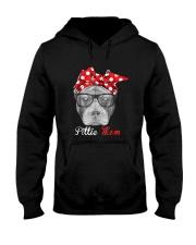 Pittie Mom Shirt for Pitbull Dog Lovers Hooded Sweatshirt thumbnail