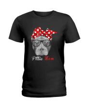 Pittie Mom Shirt for Pitbull Dog Lovers Ladies T-Shirt thumbnail