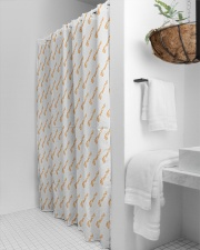 Limited Edition: Ends February 3 at Midnight Shower Curtain aos-shower-curtains-71x74-lifestyle-front-03